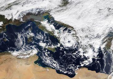 Bild: NASA EOSDIS Worldview / WetterOnline