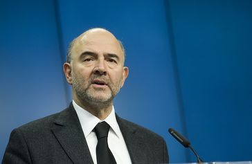 Pierre Moscovici Bild: EU Council Eurozone, on Flickr CC BY-SA 2.0