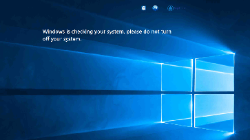 Bild: Screenshot: Ein durch Ransomware gesperrter Computer