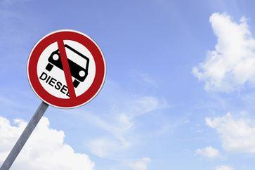 Diesel Fahrverbot (Symbolbild)