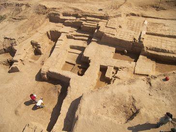 Haft Tappeh: Grabungsareal IV