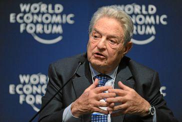 George Soros  Bild: World Economic Forum / Michael Wuertenberg / UM / Eigenes Werk