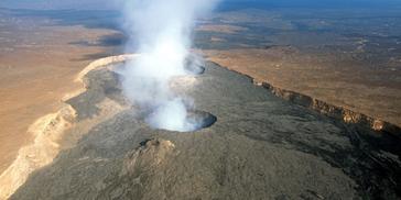 Der Afar-Plume macht sich via Vulkan Erta Ale in Äthiopien bemerkbar. Bild: filippo_jean / flickr.com
