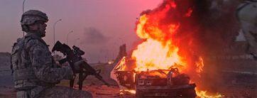 """Irak: Seit der zweiten Invasion durch die """"Koalition der Willigen"""" ein hervorragender Ort zur Aufzucht von Armeen von Widerstandkämpfern (Symbolbild)"""
