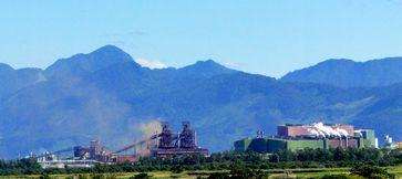Stahlwerk CSA Thyssenkrupp in Rio de Janeiro
