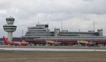"Flughafen Berlin-Tegel ""Otto Lilienthal""  Bild: Axel Mauruszat / de.wikipedia.org"