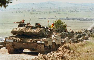 Einmarsch der Bundeswehr in fremden Ländern (Symbolbild)