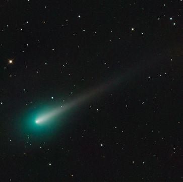 ISON am 8. Oktober 2013, Aufnahme entstanden im Mount-Lemmon-Observatorium