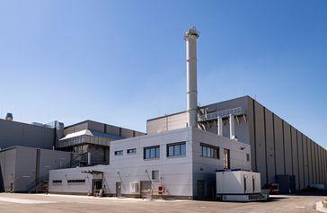 Das Reststoffbearbeitungszentrum Philippsburg  Bild: Drees & Sommer SE Fotograf: © EnBW Kernkraft GmbH