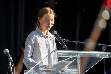 Greta Thunberg (27 September 2019 in Montreal, Canada)