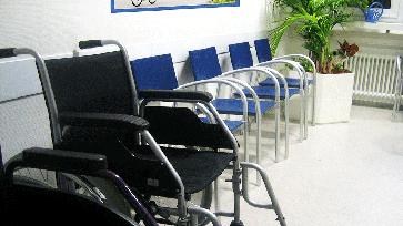 Leeres Wartezimmer (Symbolbild)