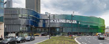 Skyline Plaza: Westseite