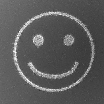 Ein Smiley aus Silizium-Nanodrähten Quelle: TU Wien (idw)