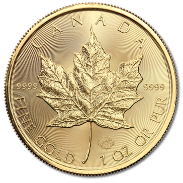 Goldmünze aus dem Königreich Kanada (Symbolbild)