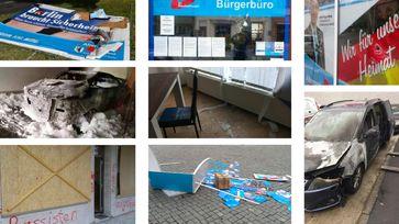 Jeder zweite Anschlag auf Bürgerbüros und Parteimitglieder im dritten Quartal 2019 galt der AfD!