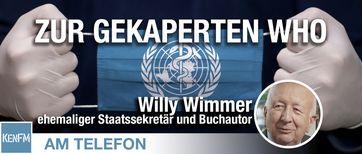 "Bild: Screenshot Video: ""Am Telefon zur gekaperten WHO: Willy Wimmer"" (https://veezee.tube/videos/watch/4eb9e254-36ec-42e6-bf64-c3dab6d88bb8) / Eigenes Werk"