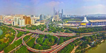 """Nanning, die ständige Gastgeberstadt der China-ASEAN Expo.  Bild: """"obs/Xinhua Silk Road Information Service"""""""