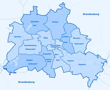 Stadtteile von Berlin