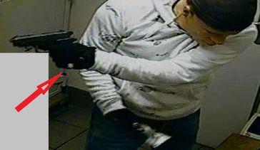 So sehen die Handschuhe aus Bild: Polizei