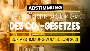 """Bild: SS Video: """" Fragwürdige Grundlage des CO2-Gesetzes - Zur Abstimmung am 13. Juni 2021"""" (www.kla.tv/18605) / Eigenes Werk"""