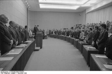 Bundesrat, Gedenkstunde für Alfred Herrhausen