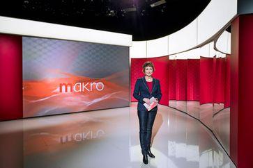 """makro""-Moderatorin Eva Schmidt Bild: ""obs/3sat/ZDF/Jana Kay"""