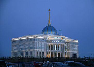 Der Ak-Orda-Präsidentenpalast