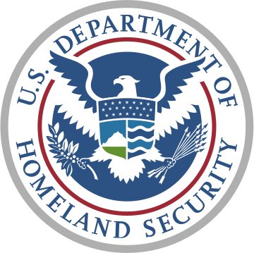 Logo US Department of Homeland Security""