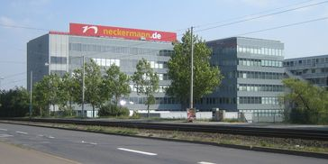Neckermann-Zentrale in Frankfurt am Main