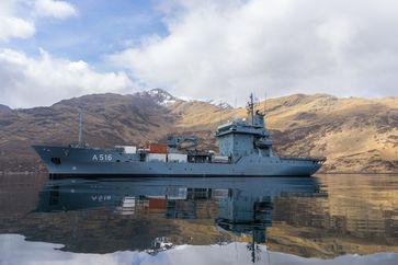 Tender Donau Bild: Bundeswehr