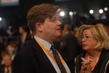 Von Klaeden auf dem CDU-Parteitag im Dezember 2012