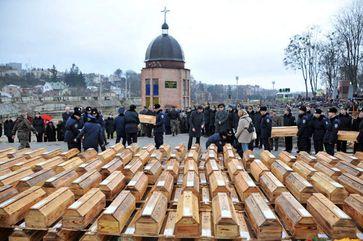 Umbettung von Opfern des kommunistischen Glaubens (Symbolbild)