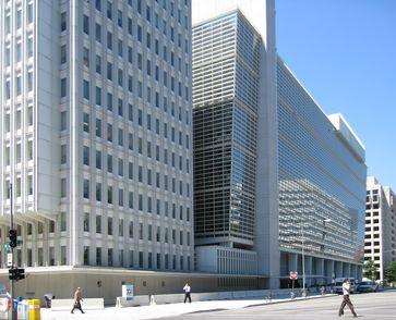 Hauptverwaltung der Weltbank in Washington.