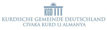 Kurdische Gemeinde Deutschland (KGD) Logo