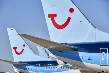 """TUI fly hat als erste Ferienfluggesellschaft in Deutschland den Flugplan für die Sommersaison 2020 zur Buchung freigegeben. Bild: """"obs/TUIfly/Gregor Schläger"""""""