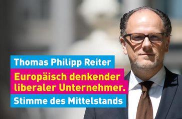 """Thomas Philipp Reiter, Unternehmer, Liberaler Mittelstand, Hamburg, Schleswig-Holstein, FDP, Europa, Brüssel Bild: """"obs/Liberaler Mittelstand Bundesverband e.V./Julia Täuscher, Brüssel"""""""