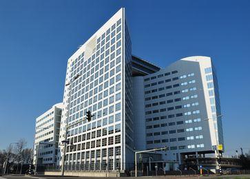 Das Gebäude des Internationalen Strafgerichtshofes und von Eurojust in Den Haag