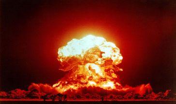 Atombombe im Einsatz (Symbolbild)
