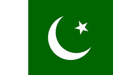 Flagge der Islamischen Republik Pakistan