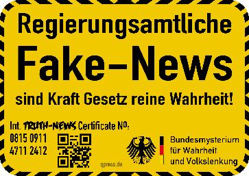 Wer definiert Wahrheit von Lüge? Die Regierung? Der Bundestag? Politiker? Konzernchefs? (Symbolbild)