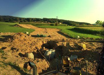 Klassische Rodung in Deutschland: Täglich über 1,2km² zerstörte Wälder für Neubaugebiete und Industriegebiete (ca. 120 Fußballfelder pro TAG oder 11m² pro Sekunde)