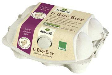 "Alnatura Bio-Eier Bruderküken-Initiative. Bild: ""obs/Alnatura Produktions- und Handels GmbH"""