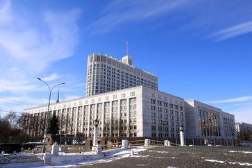 Das Weiße Haus in Moskau, heute das Hauptgebäude der Russischen Regierung. Bild: Jürg Vollmer / Maiakinfo - wikipedia.org