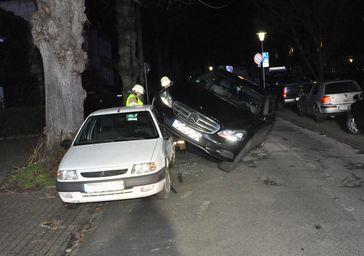 Unfall Ulmenstraße 03.03.2020 Bild: Polizei