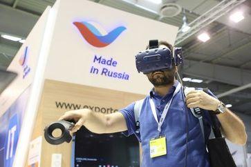 Russische Unternehmen präsentierten dank Unterstützung durch das Russian Export Center bei der CEBIT neue Technologien