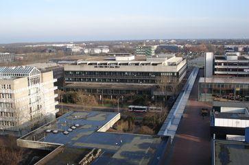 Der Campus der Uni-Bremen von oben