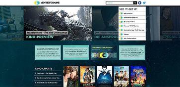 Screenshot www.centertain.me
