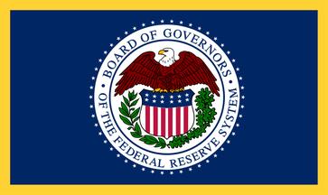 Flagge des Federal Reserve System (FED)