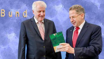 Horst Seehofer und Hans-Georg Maaßen (2018)