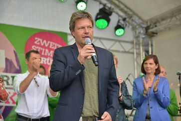 Robert Habeck Bild: Bündnis 90/Die Grünen Nordrhein-Westfalenz, on Flickr CC BY-SA 2.0